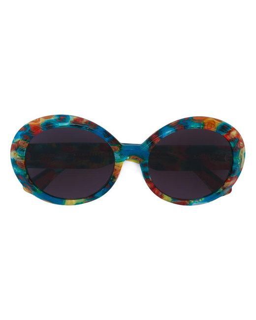 Christian Roth Eyewear - Blue 'jackie O Archive 1993' Limited Edition Sunglasses - Lyst