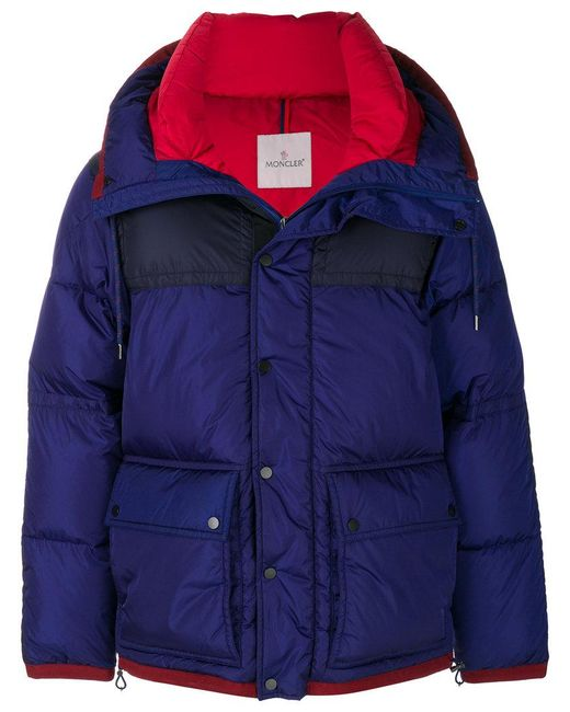 Moncler - Blue Empire Coat for Men - Lyst