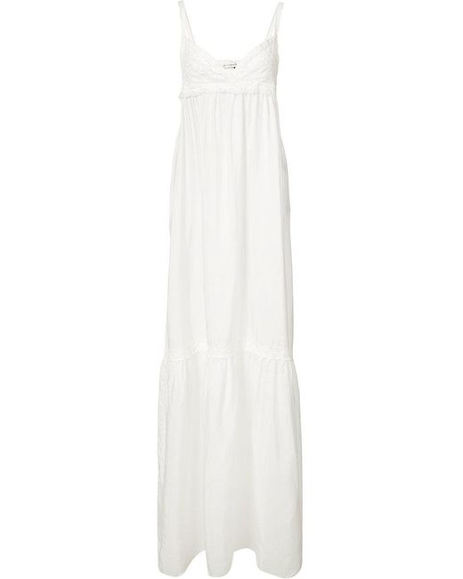 Faith Connexion | White Baby Doll Dress | Lyst
