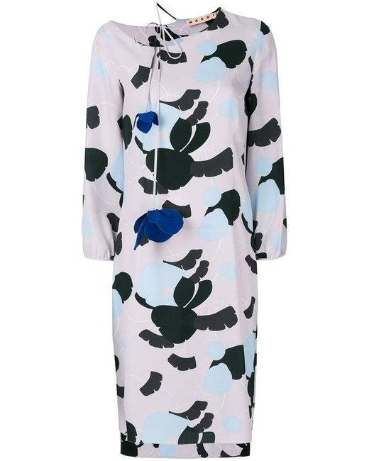 Marni - Multicolor Havana Print Dress - Lyst