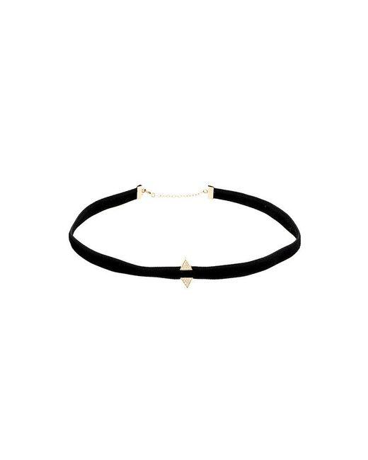 Sarah Noor | Black Velvet Choker Necklace | Lyst