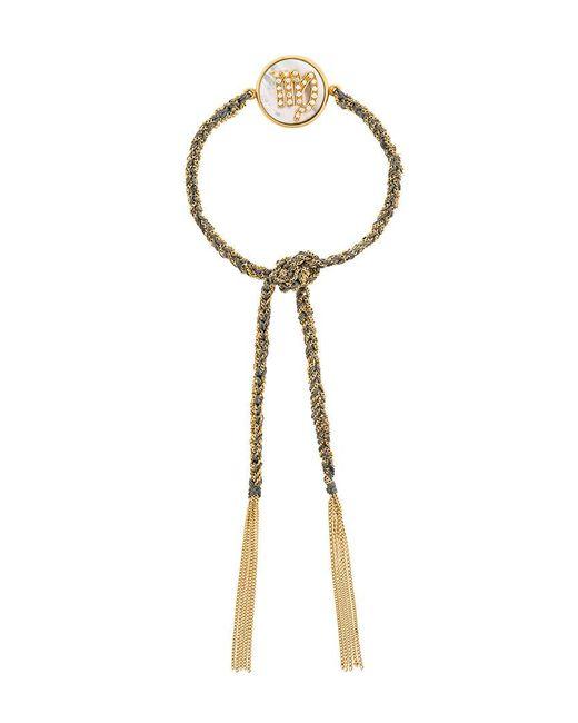Carolina Bucci - Metallic 18kt Gold And Diamond Lucky Virgo Zodiac Bracelet - Lyst