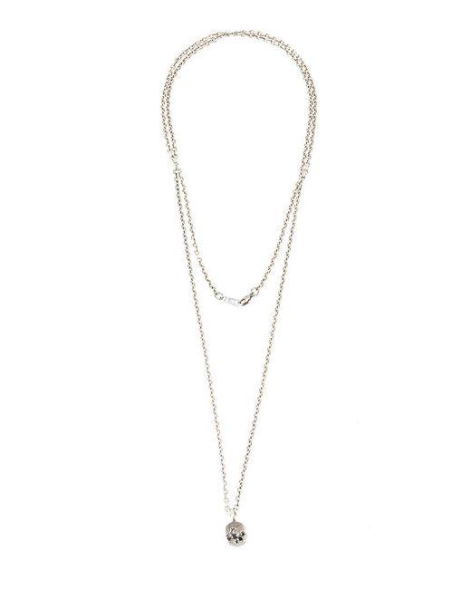 Tobias Wistisen | Gray Eroded Pendant Necklace | Lyst