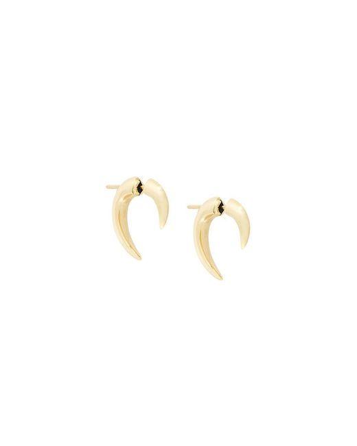 Shaun Leane | Metallic 18kt Yellow Gold Small 'talon' Earrings | Lyst