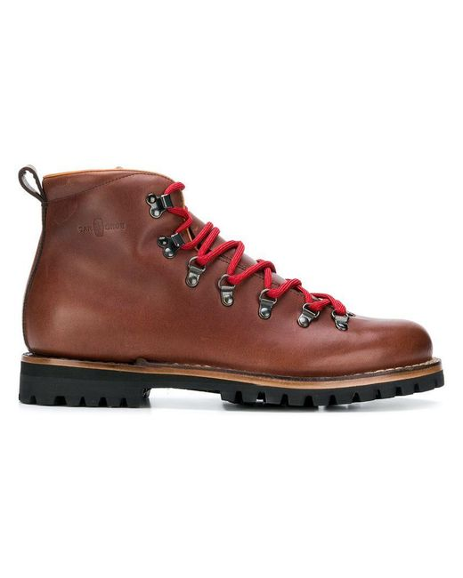 Car Shoe - Brown Lace-up Boots for Men - Lyst