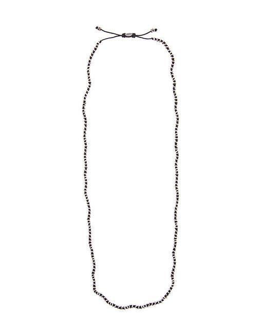 M. Cohen - Black Beaded Necklace for Men - Lyst