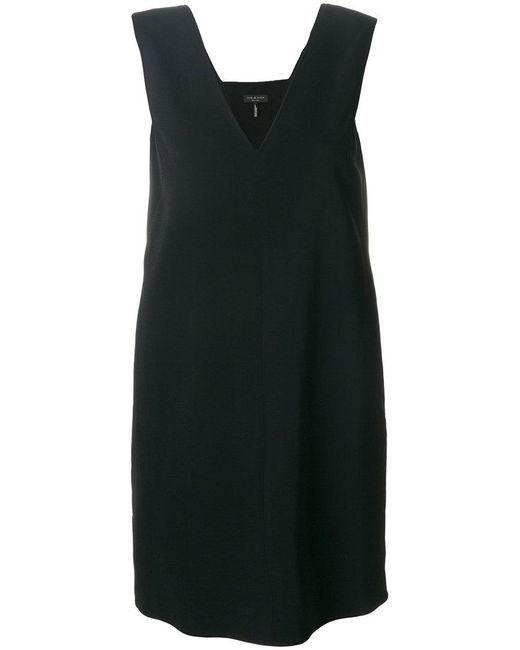 Rag & Bone | Black V Neck Short Dress | Lyst