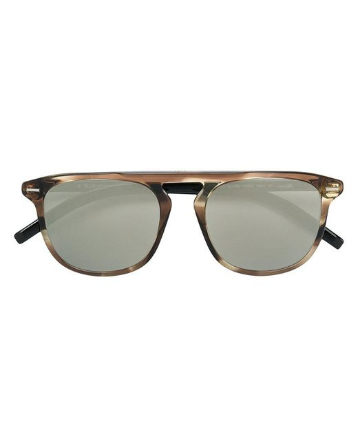 Dior - Brown Black Tie Sunglasses for Men - Lyst