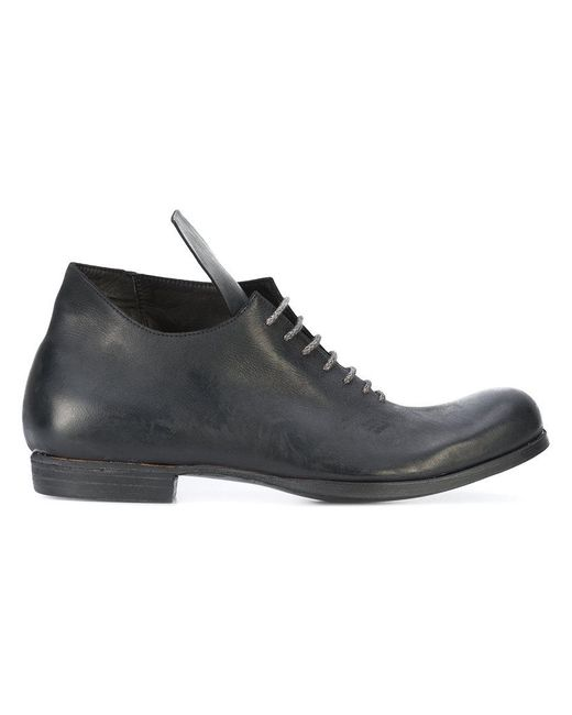 A Diciannoveventitre | Black Oversize Tongue Shoes for Men | Lyst