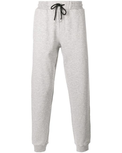 McQ Alexander McQueen | Gray Drawstring Track Pants for Men | Lyst