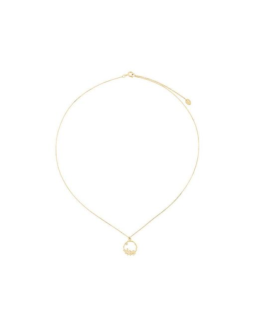 Alex Monroe | Metallic Rosa Chorona Necklace | Lyst
