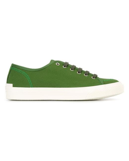 Stella McCartney - Green Classic Canvas Sneakers for Men - Lyst