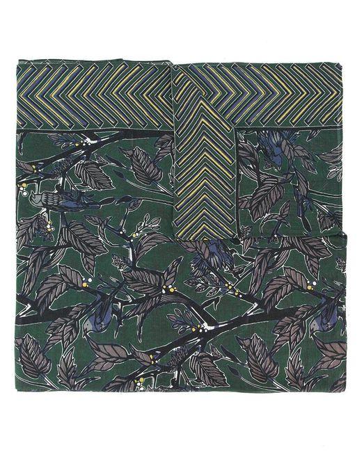 Yoshiokubo - Green Dry Leaf Scarf for Men - Lyst