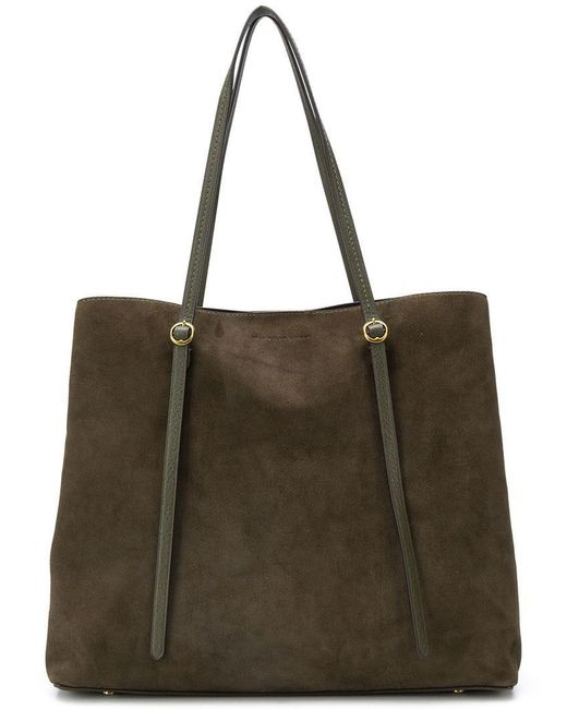 Polo Ralph Lauren - Green Lennox Tote Large Olive - Lyst