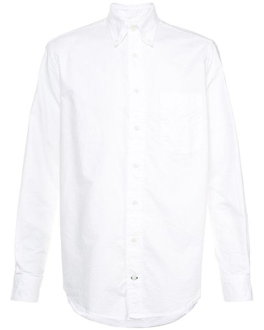 Lyst Gitman Brothers Vintage Classic Shirt In White For Men