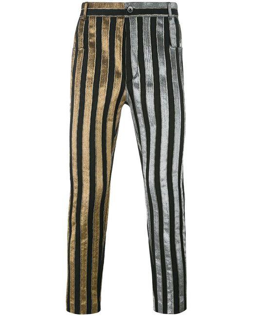 Haider Ackermann | Black Striped Trousers for Men | Lyst