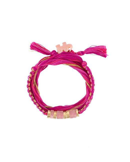Aurelie Bidermann | Metallic 'takayama' Wrap Bracelet | Lyst