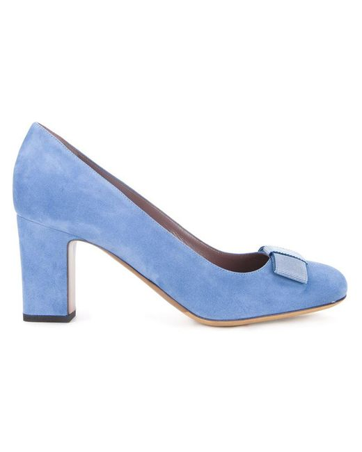 Tabitha Simmons - Blue 'flora' Pumps - Lyst