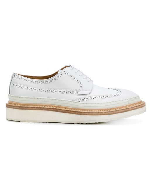 Weber Hodel Feder | White Hartford Oxford Shoes for Men | Lyst