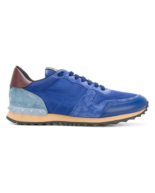 74cf80b55981 Valentino Rockrunner Trainers Blue