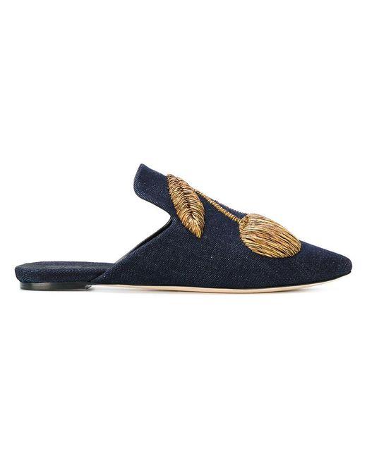 Sanayi 313 | Blue Ciliegia Slippers | Lyst
