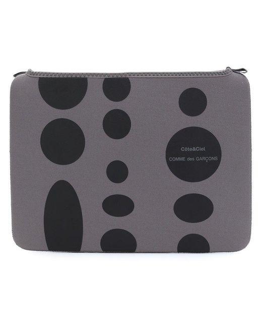 Comme des Garçons - Gray Polka Dot Laptop Pouch for Men - Lyst