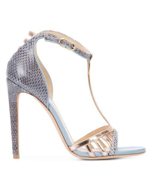 Chloe Gosselin - Brown Hyacinth Stiletto Sandals - Lyst