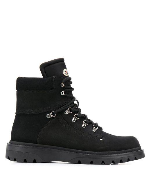 Moncler Black Egide Mountain Boots for men