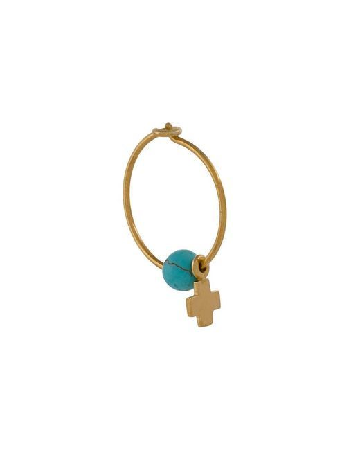 Ileana Makri - Multicolor Cross Earring - Lyst