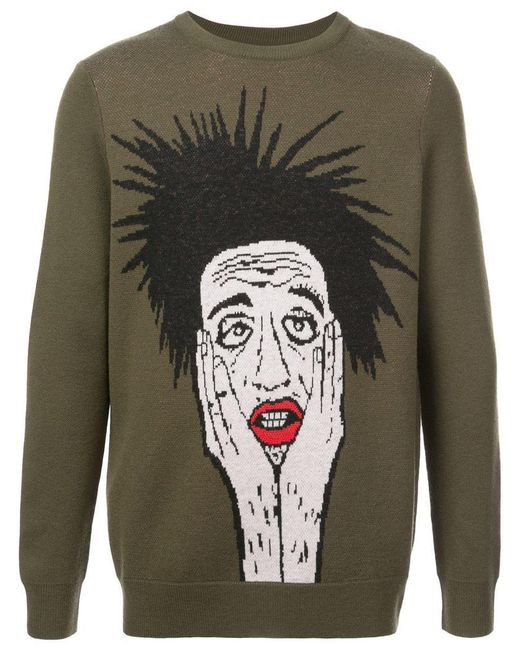 Haculla - Green Stop Calling Me Sweater for Men - Lyst