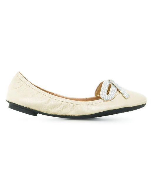 Marc Jacobs - White Willa Bow Ballet Flats - Lyst