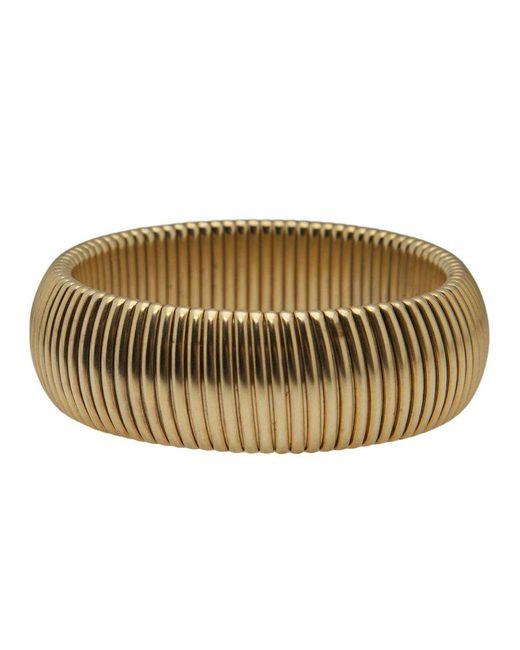 Janis Savitt - Metallic Wide 'cobra' Bracelet - Lyst