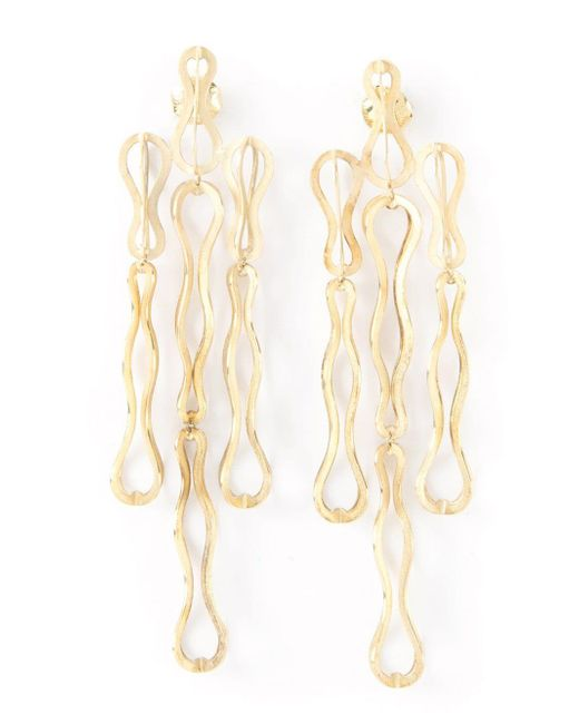 Antonio Bernardo Yellow 'fertil' Earrings