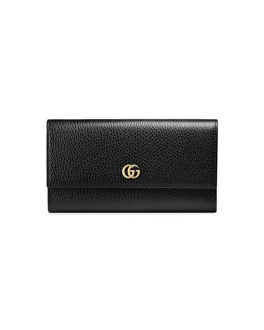 a5848626930d4 Gucci Klassisches Portemonnaie in Schwarz - Sparen Sie 2% - Lyst