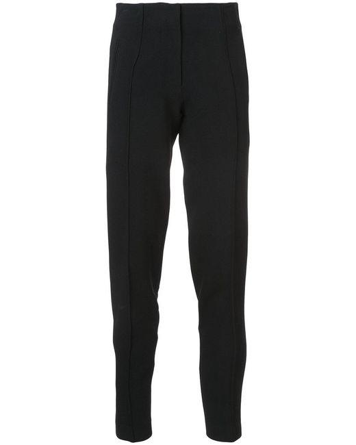 Protagonist | Black Rib Detail Trousers | Lyst