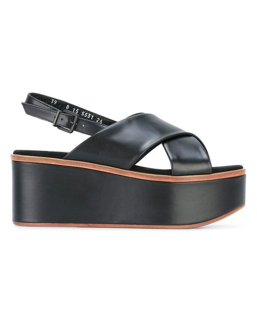 Robert Clergerie | Black Flix Sandals | Lyst