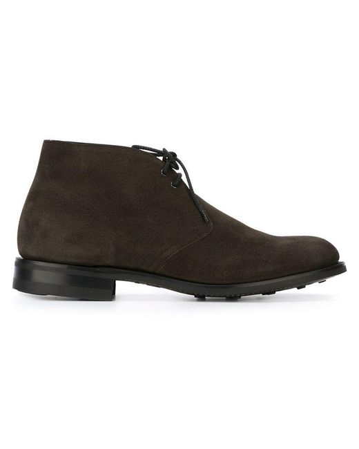 Church's - Gray 'sahara' Boots for Men - Lyst