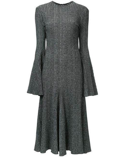 Ellery | Gray Conrad Godet Dress | Lyst