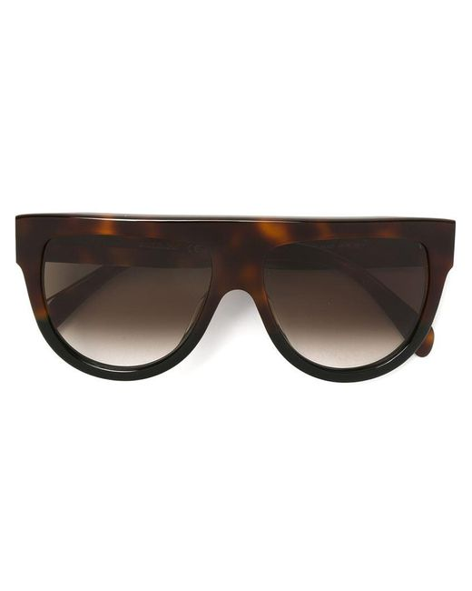 Céline | Gray 'shadow' Sunglasses | Lyst