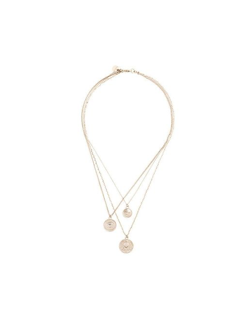 Givenchy | Metallic Medallion Necklace | Lyst