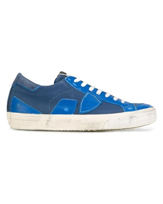 Philippe Model | Blue Bercy Sneakers for Men | Lyst