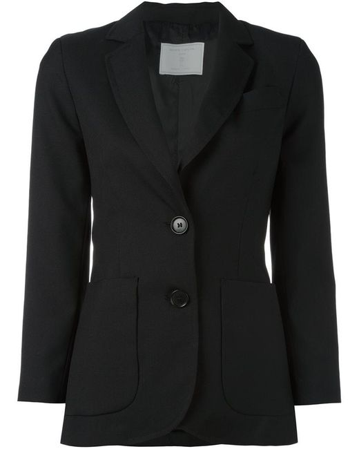 Societe Anonyme | Black Two Button Jacket | Lyst