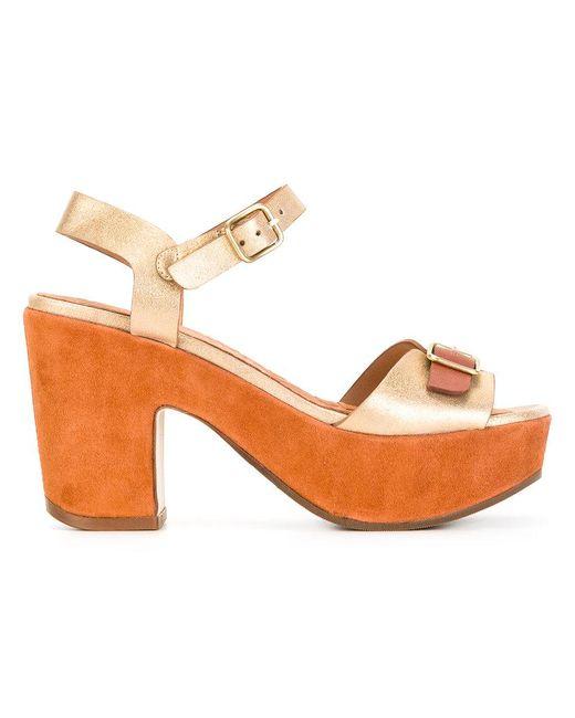 Chie Mihara | Brown Fasha Sandals | Lyst
