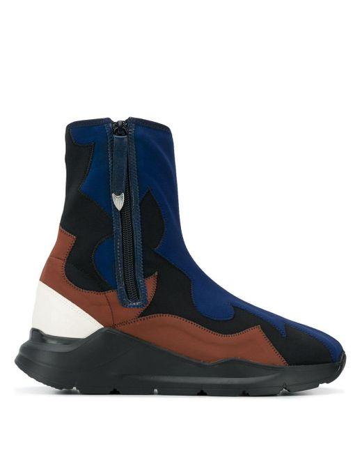 Toga Black Sock-style Boots