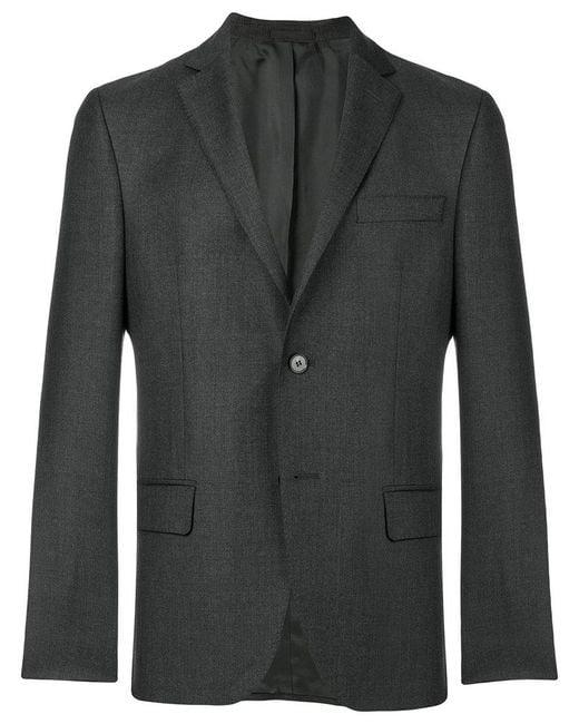 Officine Generale - Gray Classic Blazer for Men - Lyst