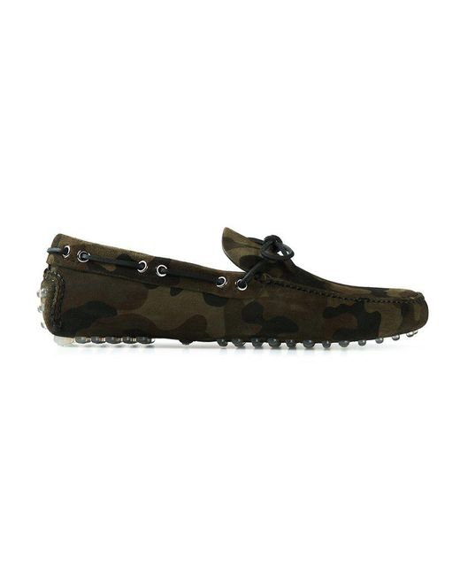 Car Shoe | Green Camouflage Driving Shoes for Men | Lyst