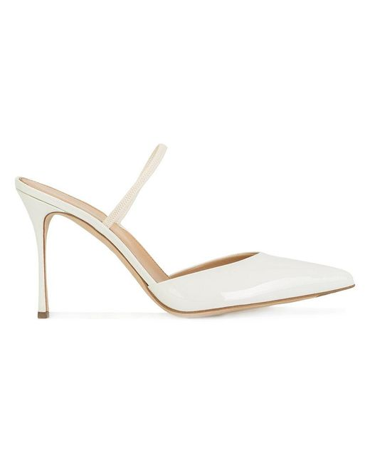 Sergio Rossi | White Pointed Toe Pumps | Lyst
