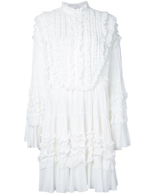 Faith Connexion - White Ethn Dress - Lyst