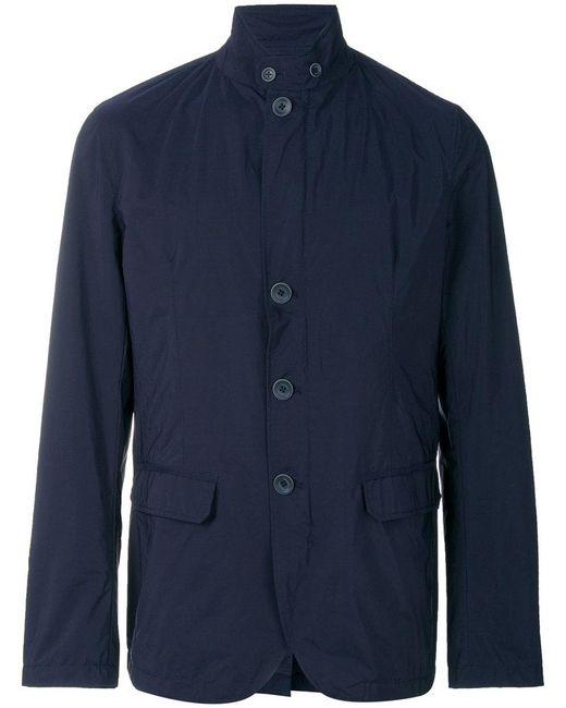 Herno | Blue Lightweight Designer Jacket for Men | Lyst