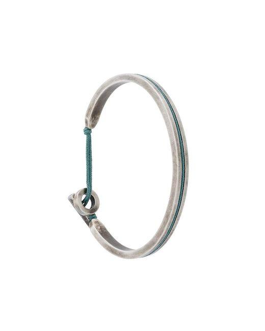 M. Cohen | Metallic Twist Hook Bracelet for Men | Lyst